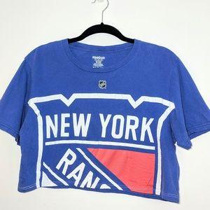 New York Rangers | Crop T-Shirt